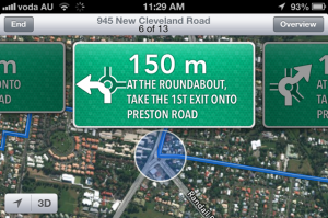 Apple Maps data is three years out of date